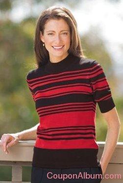 variegated stripe sweater