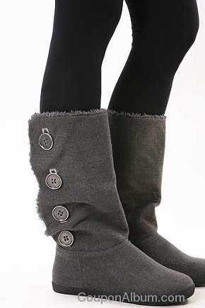 wave buttons boots