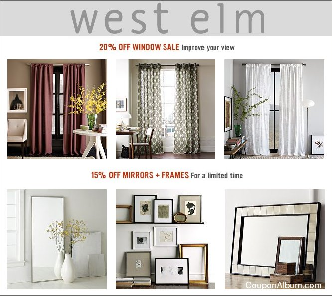 west elm sale
