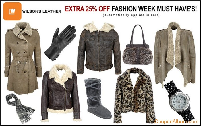 wilsons leather fashion week must-haves
