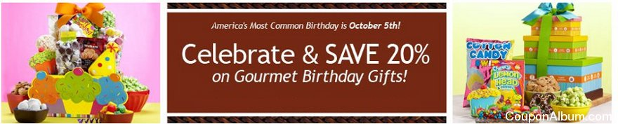 1800 baskets most common birthday