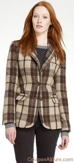 Charles Plaid Jacket