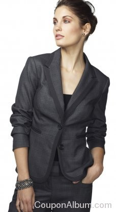 Contrast Two-tone Jacket