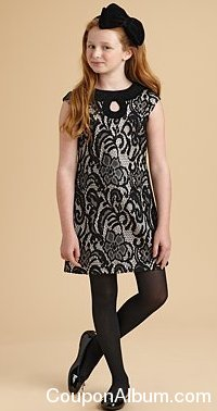 KC Parker Girl's Lace Dress