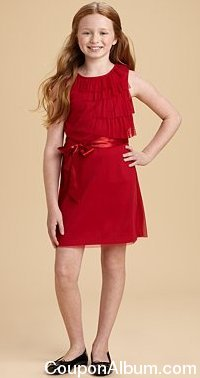 KC Parker Girl's Ruffle Dress