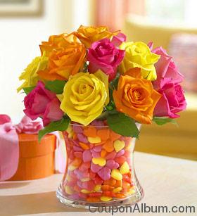 Sweetheart Vase Bouquet