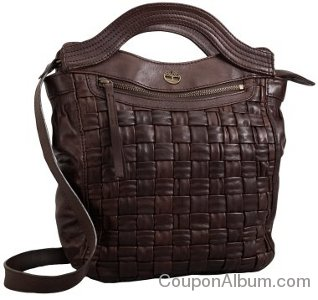 Timberland Crosscut Leather Handle Bag