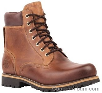Timberland Men's Earthkeepers Rugged 6-Inch WP Plain Toe Boot
