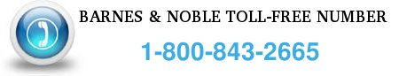 barnes and noble toll-free number
