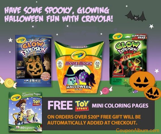 crayola friends and family event