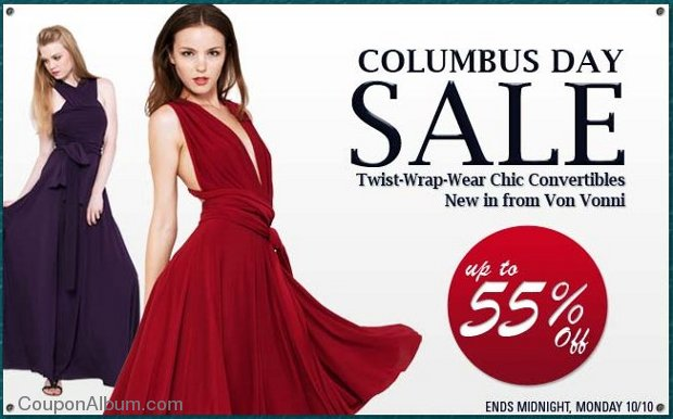 edressme columbus day sale