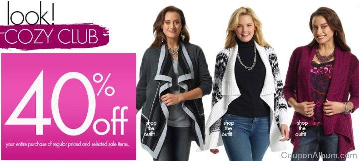 fashion bug coupon