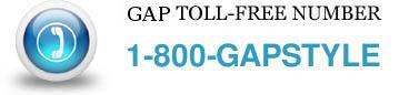 gap-toll-free-number