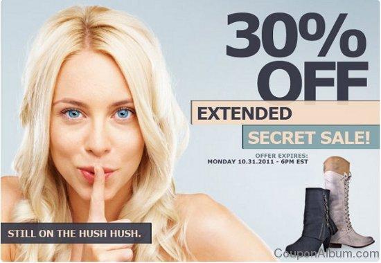 heels secret sale