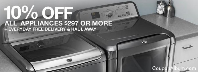 home depot appliance savings