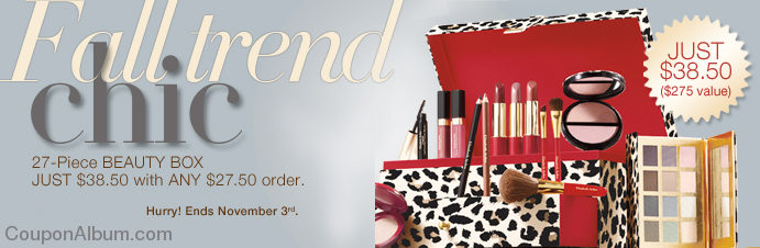 leopard chic beauty box