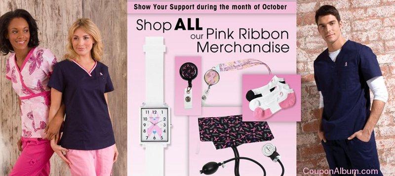 life uniform pink ribbon deals