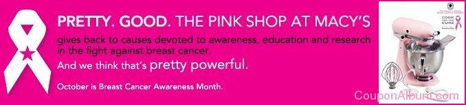 macys pink ribbon collection