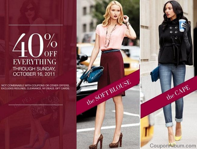 new york and company 40 off coupon