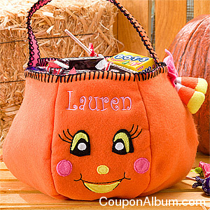 personalized halloween bag