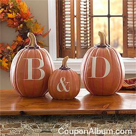personalized halloween pumpkins