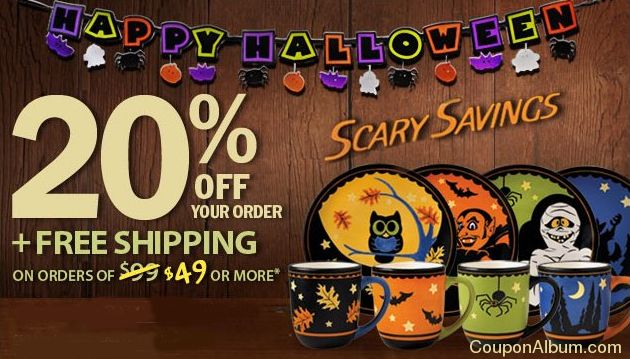 pfaltzgraff halloween offer
