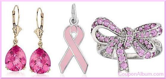 ross simons pink ribbon jewelry