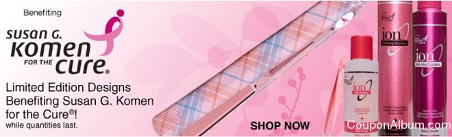 sally beauty pink ribbon collection