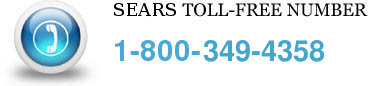 sears toll free number