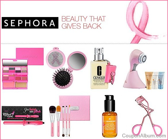 sephora pink ribbon products