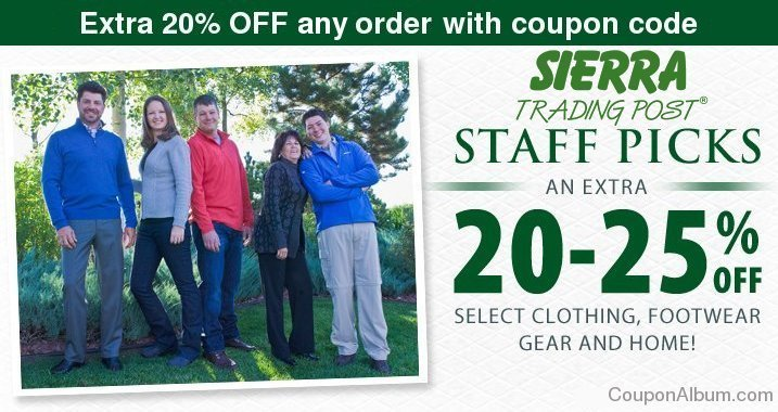 sierra trading post october savings
