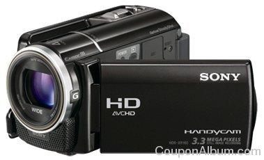 sony camcorder hdrxr160