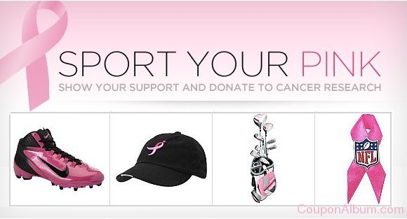 sports authority pink ribbon