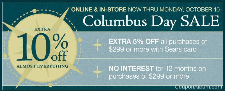 the great indoors columbus day sale