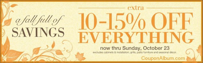 the great indoors fall savings event