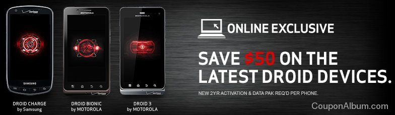 verizon wireless droid phone offer