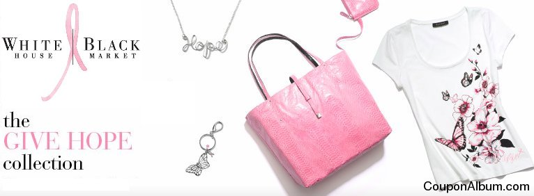 whitehouseblackmarket pink ribbon collection