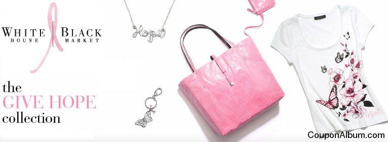 whitehouseblackmarket pink ribbon collection