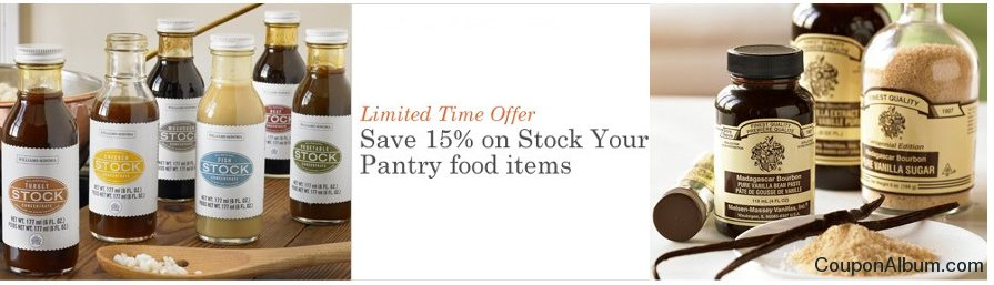 williams sonoma coupon