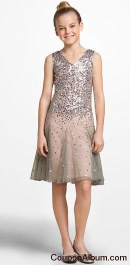 Blush by Us Angels Mesh Dress
