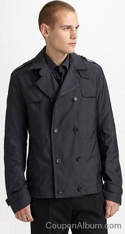 Hugo Bomer Short Trench