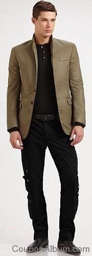 Ralph Lauren Black Label - Anthony Paper-Touch Cotton Sportcoat