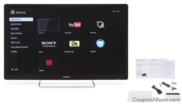 Sony NSX46GT1 46-inch Edgelit Google TV LED HDTV
