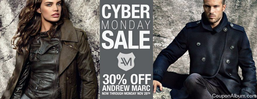 andrew marc cyber monday