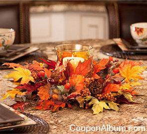 autumn candleholder