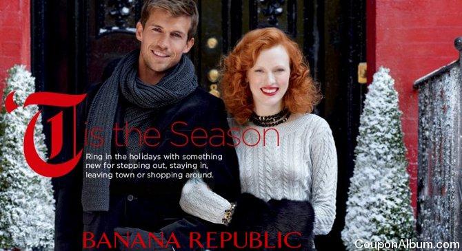 banana republic holiday collection