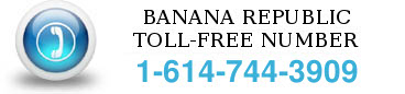 banana republic toll free number