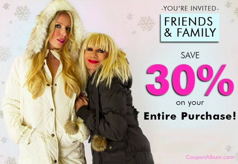 betsey johnson friends and family event