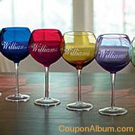 colored balloon glasses