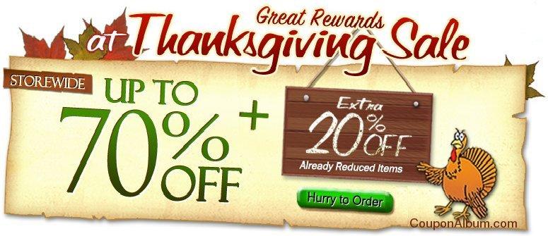 dinodirect thanksgiving sale